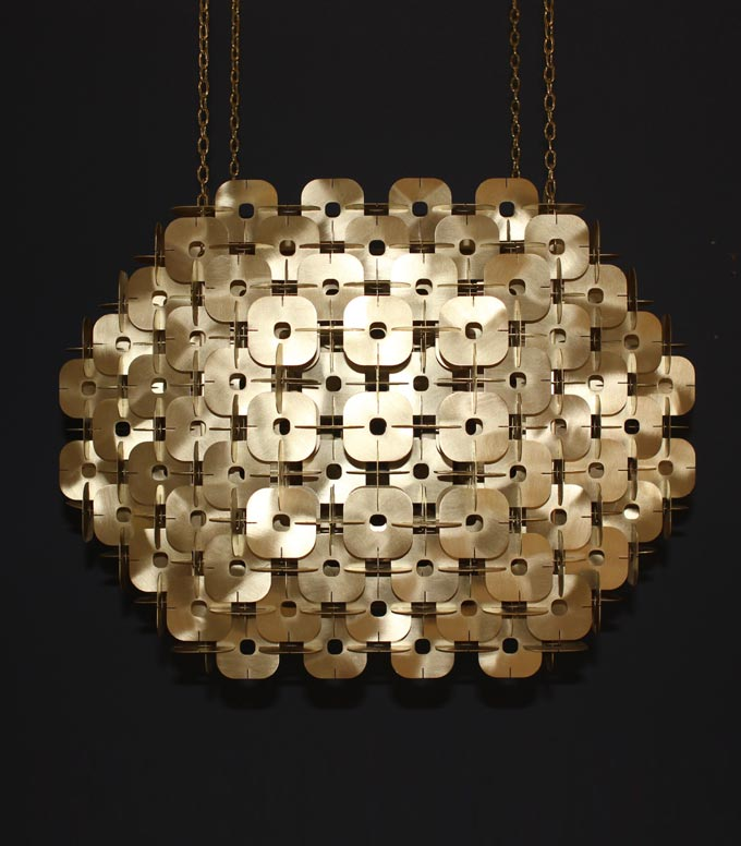 Element Chandelier launches at Decorex